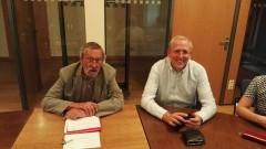 Oliver Lindner und Heinz Grimme