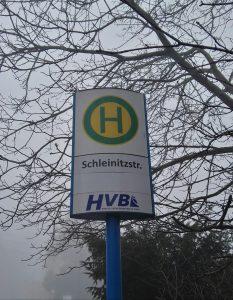 Straßenschild Schleinitzstraße